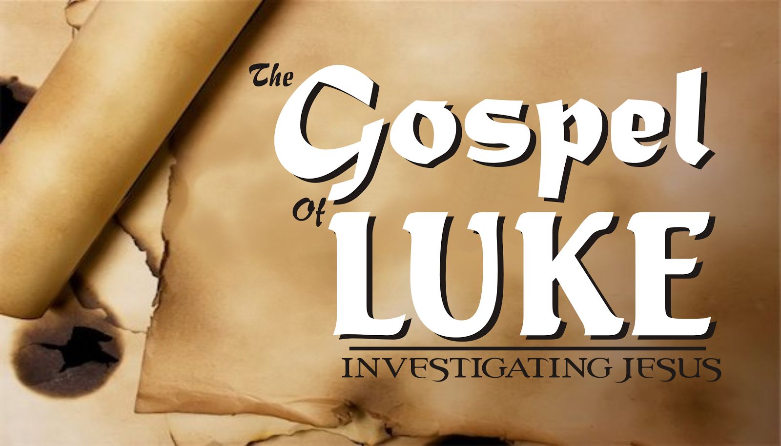 gospel of luke Biblical teaching 10: the gospel of luke: parables jesus told much of jesus' teaching was accomplished through the telling of parables—a very common teaching method in his day.
